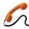 Telefon rör att ringa in bokningar